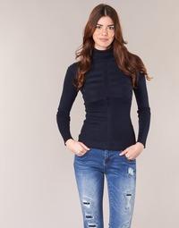vaatteet Naiset Neulepusero Morgan MENTOS Blue