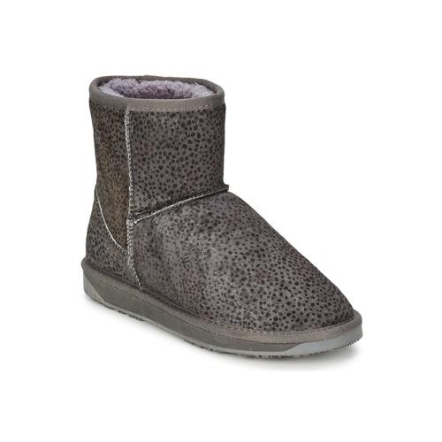 kengät Naiset Bootsit Booroo MINNIE LEO Grey / Beige / marine