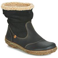 kengät Naiset Bootsit El Naturalista NIDO Black
