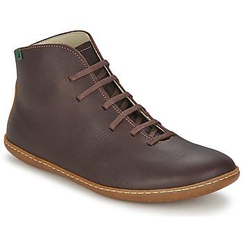 kengät Miehet Bootsit El Naturalista EL VIAJERO Brown
