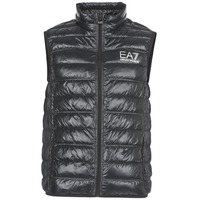 vaatteet Miehet Toppatakki Emporio Armani EA7 ONAFRATO Black
