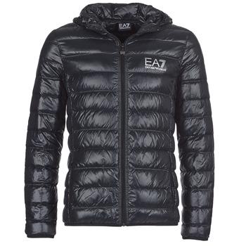 vaatteet Miehet Toppatakki Emporio Armani EA7 ANDOURALO Black