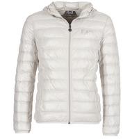 vaatteet Miehet Toppatakki Emporio Armani EA7 ANDOURALO White