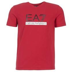 vaatteet Miehet Lyhythihainen t-paita Emporio Armani EA7 MOFRAGO Red