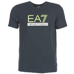 vaatteet Miehet Lyhythihainen t-paita Emporio Armani EA7 JANTLOA Laivastonsininen