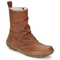kengät Naiset Bootsit El Naturalista NIDO Brown