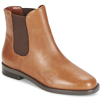 kengät Naiset Bootsit Ralph Lauren BELVA COGNAC