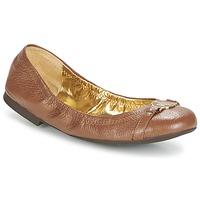 kengät Naiset Balleriinat Ralph Lauren BETHENNY COGNAC