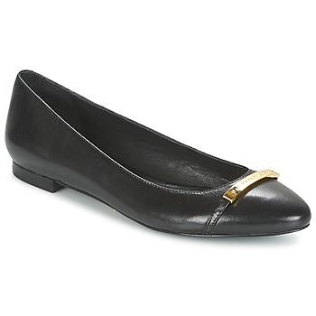 kengät Naiset Balleriinat Ralph Lauren FARREL-FLATS-CASUAL Black