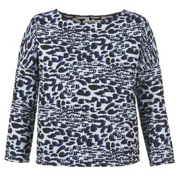 vaatteet Naiset Neulepusero See U Soon SAVERIA Grey / Black / Blue