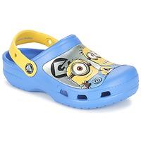 kengät Lapset Puukengät Crocs CC Minions Clog Blue / Yellow