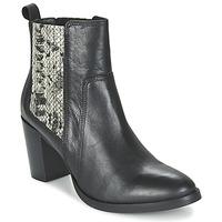 kengät Naiset Nilkkurit Betty London FLARA Black / Python