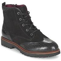 kengät Naiset Bootsit Tamaris SOROLA Black