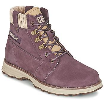kengät Naiset Bootsit Caterpillar CHARLI Violet