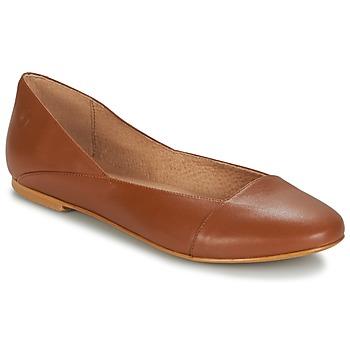 kengät Naiset Balleriinat Casual Attitude TOBALO Brown