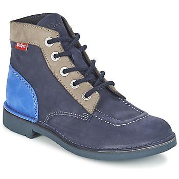 kengät Naiset Bootsit Kickers KICK COL Laivastonsininen