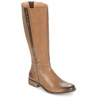 kengät Naiset Saappaat Kickers LONGBOTTE Brown / Gold