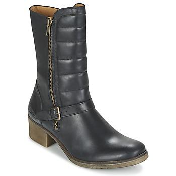 kengät Naiset Bootsit Kickers MILLIER Musta