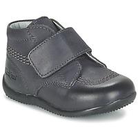 kengät Lapset Bootsit Kickers BILOU Black
