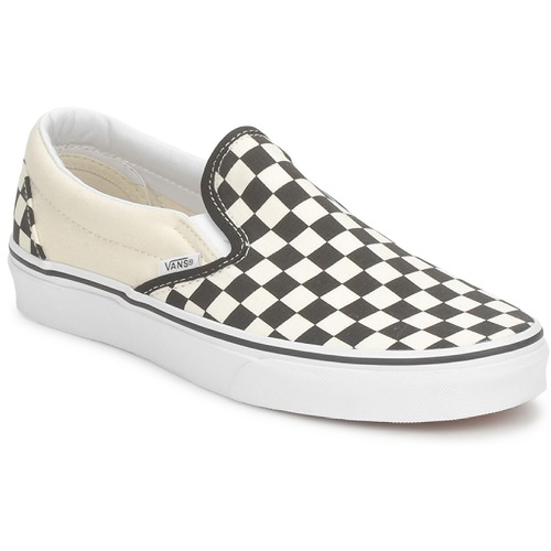 kengät Tennarit Vans CLASSIC SLIP ON Black / White