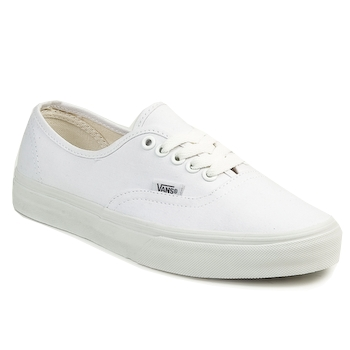 kengät Matalavartiset tennarit Vans AUTHENTIC White