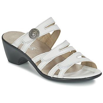 kengät Naiset Sandaalit Romika Gorda 01 White