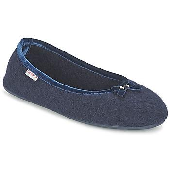 kengät Naiset Tossut Giesswein HOHENAU Laivastonsininen