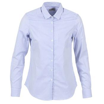 vaatteet Naiset Paitapusero / Kauluspaita Casual Attitude FANFAN White / Blue
