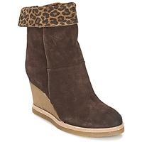 kengät Naiset Nilkkurit Vic VANCOVER GUEPARDO Brown / Leopardi