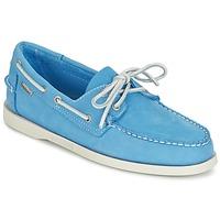 kengät Miehet Mokkasiinit Sebago DOCKSIDES Blue