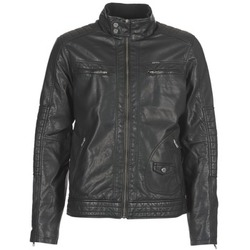 vaatteet Miehet Nahkatakit / Tekonahkatakit Petrol Industries VESTE JAC150 Black
