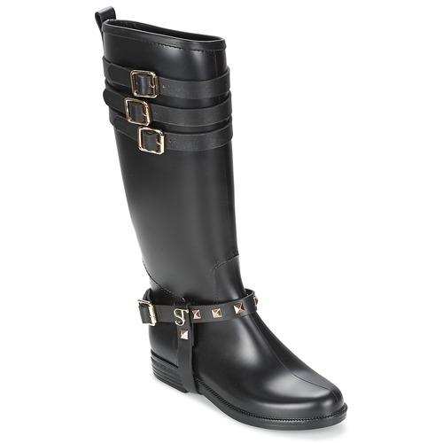 kengät Naiset Saappaat SuperTrash SAMMY Black