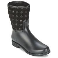 kengät Naiset Bootsit SuperTrash SUZY Musta