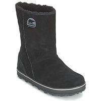 kengät Naiset Talvisaappaat Sorel GLACY Black