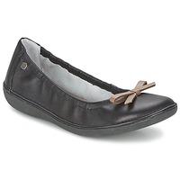 kengät Naiset Balleriinat TBS MACASH Black / Taupe