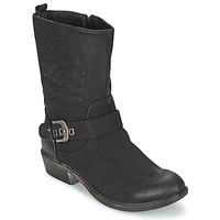kengät Naiset Bootsit Spot on GANIA Black