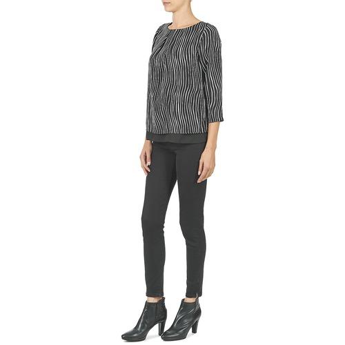 Betty London Fadilia Black / White - Ilmainen Toimitus- Vaatteet Paita Naiset 21