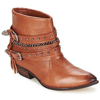 kengät Naiset Bootsit Dumond ZIELLE Brown