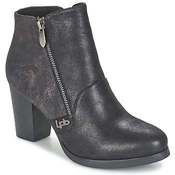 kengät Naiset Nilkkurit LPB Shoes BALTIMORE Black