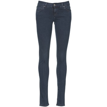 vaatteet Naiset Slim-farkut School Rag NEW LINDSEY Blue