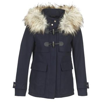 vaatteet Naiset Paksu takki Only NEW JENNY Laivastonsininen