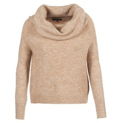vaatteet Naiset Neulepusero Only BERGEN BEIGE