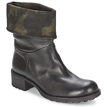 kengät Naiset Bootsit JFK TARZAN Black