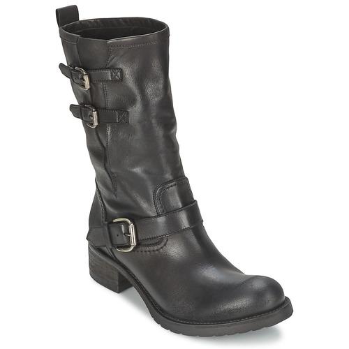 kengät Naiset Bootsit JFK GUANTP Black