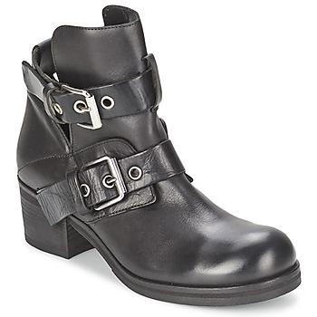 kengät Naiset Nilkkurit Strategia CRECA Black