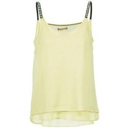 vaatteet Naiset Hihattomat paidat / Hihattomat t-paidat Les P'tites Bombes BRICCOM Yellow