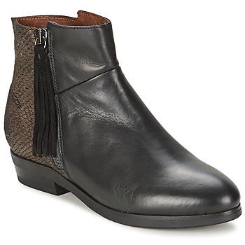 kengät Naiset Bootsit Coqueterra PATRICE Black