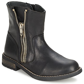 kengät Tytöt Bootsit Little Mary ROCKNROL Black