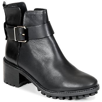kengät Naiset Nilkkurit Miista GRETA Black