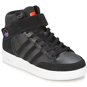 kengät Lapset Korkeavartiset tennarit adidas Originals VARIAL MID J Black / Red / Blue